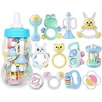 ハンドベルラトル赤ちゃん新生児臼歯 - 赤ちゃんのラトルとおもちゃのギフトセット ( Color : D )