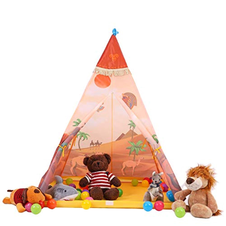 buringer Teepee TentインドPlay House Indoor &アウトドア再生テント