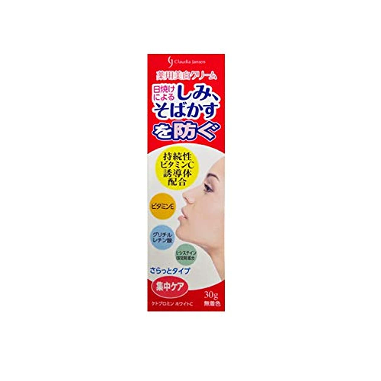 ウォーターフロント摂氏想定三友薬品 医薬部外品 薬用ホワイトニングクリームC 30g