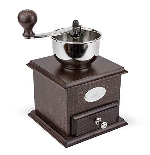 プジョー PEUGEOT コーヒーミル 手挽き 粗さ調節 豆容量 25g 22cm 茶木 ブラジル 19401765