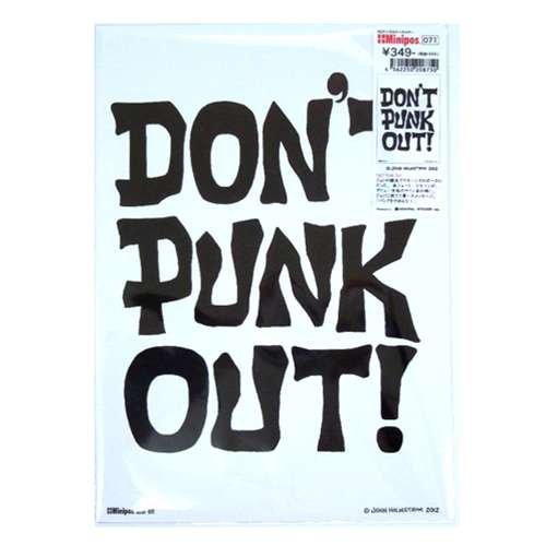 【Minipos】PUNK/John Holmstrom《Don't Punk Out!/071》ミニポスターインテリアアート通販