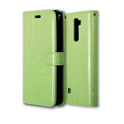 LG G Stylus 2Plusケース、MCUKフォリオフリップPUレザー財布ケースカバーマグネット開閉バックスキンと内蔵カードスロット付きfor LG G Stylus 2Plus / LG G Stylo 2Plus / ms550