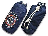 OLD CROW/オールドクロウ 2019SS「Runabout Laundry Bag/ルナボートランドリーバッグ」(OC-19-SS-G03-M) インディゴ