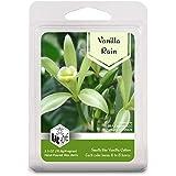 BAC Home バニラレインソイブレンド 香り付きワックスキューブメルト、2.5オンス、[6キューブ] グリーン