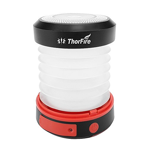 LEDランタン ThorFire 太陽 USB充電 折り畳み式 携帯便利 アウトドア・ LED のランタン ライト・ USB 充電式テント・ ランプ電球懐中電灯ポータブル・ 旅行・ 屋内ハイキング 夜釣り用 ・ 緊急事態用 ・非常用 CL04