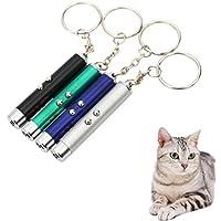 ペット用品 猫用光るおもちゃ ネコ LED ポインター ペット おもちゃ LEDボール 猫じゃらし 電池付き じゃれ猫 (2個セット) LY-A82