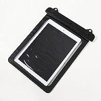 KISKIS dreampark iPad 10インチ タブレット 防水ケース 防水保護等級 IPx8 水深10M スタイリッシュ 防水 PC ポータブルゲーム iPad iPad mini iPad air Galaxy Surface (黒色 ブラック 防水 10インチ タブレット 縦型)KK416