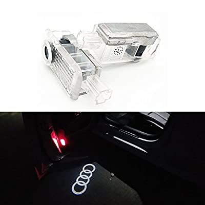 BAILONGJU Car Door LED Lighting Entry Ghost Shadow Projector Welcome Lamp Logo Light