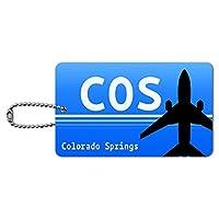 コロラドスプリングスのCO(COS)空港コード IDカード荷物タグ