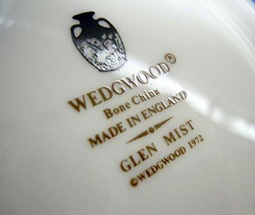 廃番 ウェッジウッド Wedgwood グレンミスト ピオニー ティーカップ&ソーサー スージークーパーデザイン