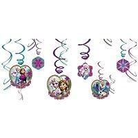 パーティーグッズ 誕生日 アナと雪の女王 スワールデコレーション Frozen Swirl Decorations バースデー 飾り