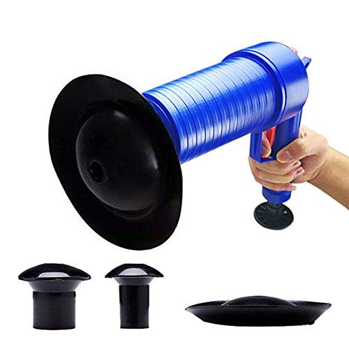 パイプクリーナー 加圧式 パイプレスキュー 4種類のラバーパーツ 洗面台 浴槽 排水口 排水管 パイプ つまり解消 疏通ツール 台所・洗面台・トイレ 様々な場所に使用可能
