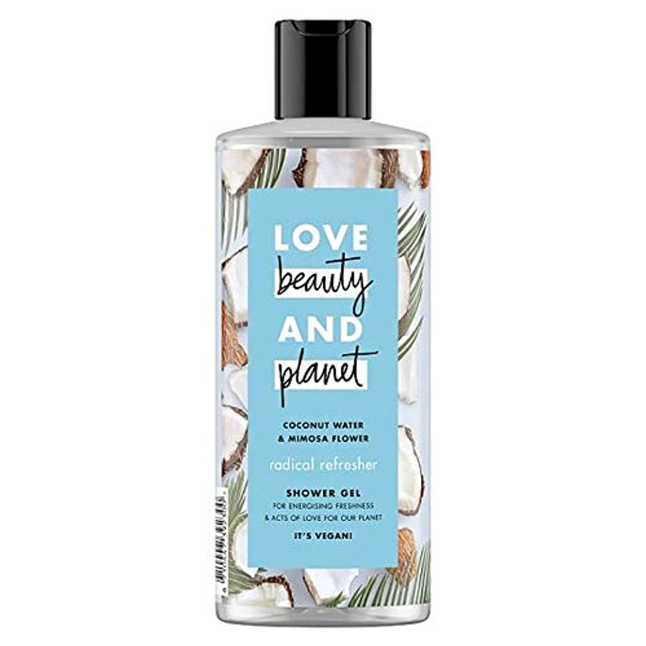 自発司令官しっとり[Dove] LvのBty&Plnココナッツ水とミモザ500ミリリットル - Lv Bty&Pln Coconut Water And Mimosa 500Ml [並行輸入品]