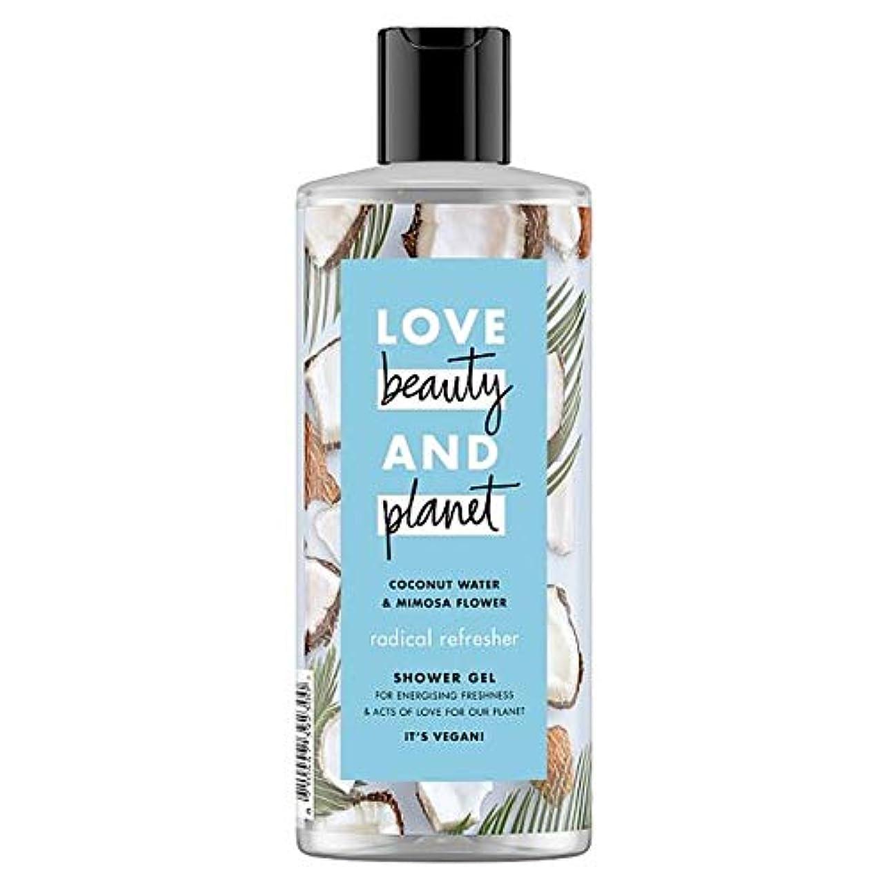 櫛おしゃれな過ち[Dove] LvのBty&Plnココナッツ水とミモザ500ミリリットル - Lv Bty&Pln Coconut Water And Mimosa 500Ml [並行輸入品]