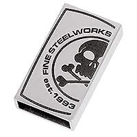 Ernstes Design Fine Steel Works交換可能クラスプ幅2.2 cm 12,00 mmステンレススチールAN707