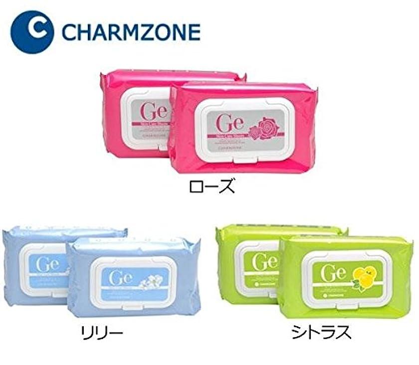 分泌するクラシック対人チャームゾーン Geスキンケアシート 120枚(1包60枚×2個) ローズ 化粧品 スキンケア ベーシック パッ