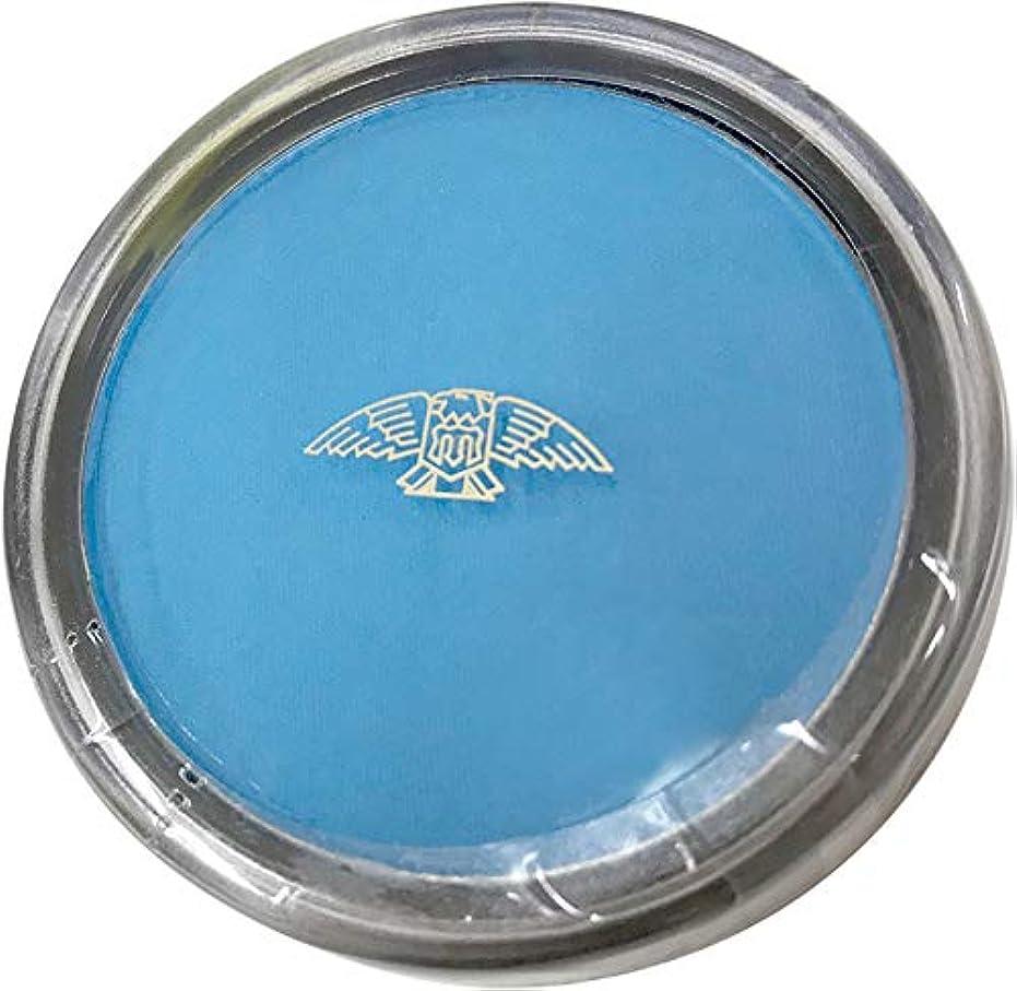 ポンプ乳白色ドロップ三善 プラスカラー ブルー