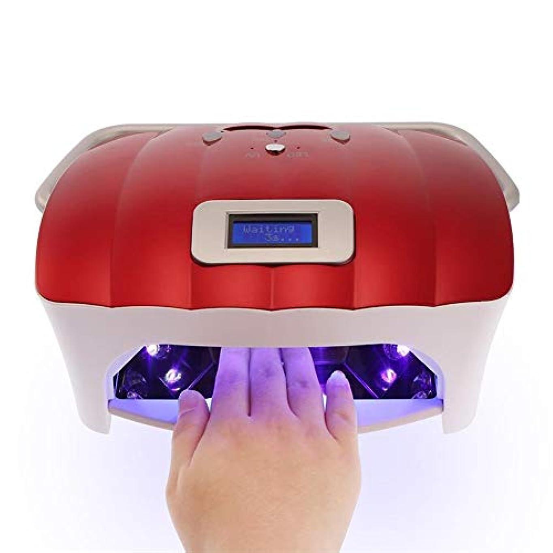 電気のかまどありふれた54ワットled uvネイルランプネイルドライヤーライト機でhandprpr professionalプロフェッショナル指爪&toenail uvジェル硬化ネイルマニキュアツール