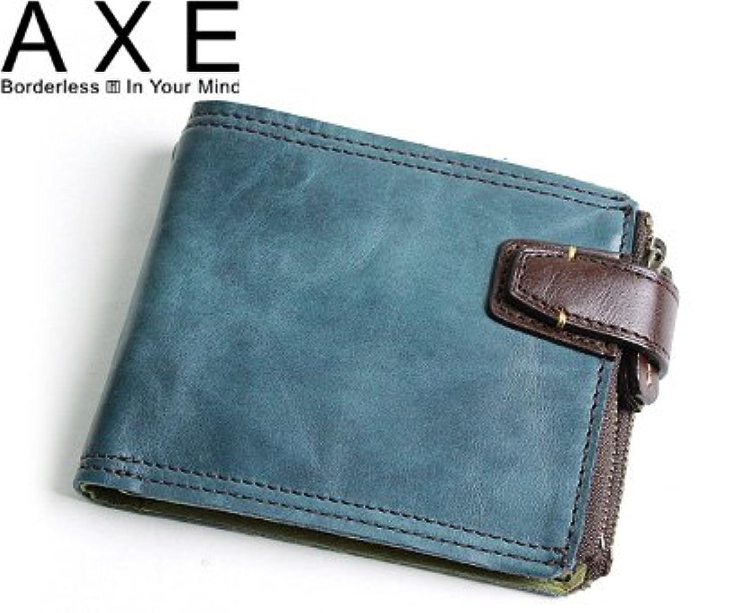 道路被るプロフェッショナルAXE ウォッシュ 二つ折り財布 136654