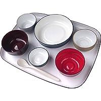 五感で楽しむ自立支援食器IROHA フルセット iroha01 (大成樹脂工業) (食器)