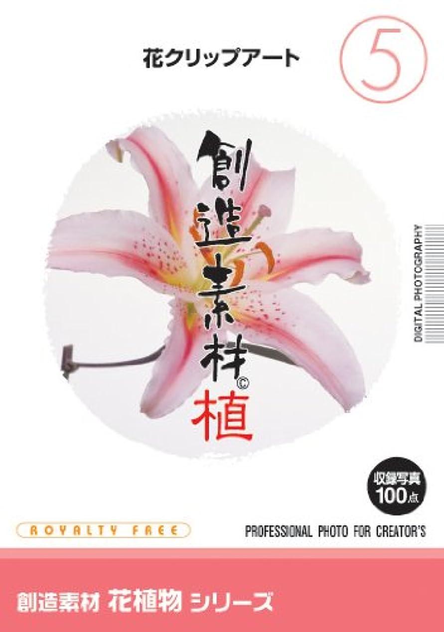 ストリップマッサージトロリーイメージランド 創造素材 花植物(5)花クリップアート