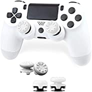 FPSフリーク PS4 PS5 コントローラー用 親指グリップキャップ 滑り止め RG 可動域アップ アシストキャップ 簡易パッケージ アシストキャップ ジョイスティックカバー For P5 / P4 保護カバー (ホワ
