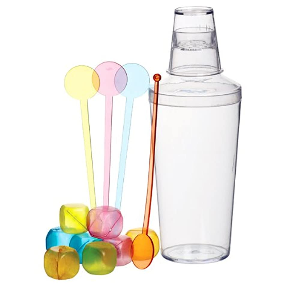 13 Piece Cocktail Shaker Set