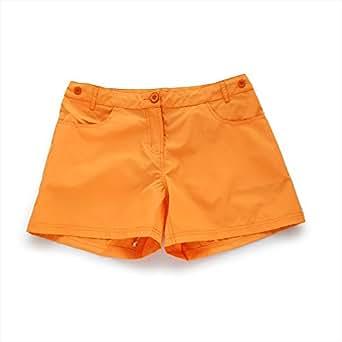 (アプラージュ)UPLAGE 水着 レディース カラーサーフパンツ 無地 ショートパンツ 短パン 5色 LS0008 オレンジ S