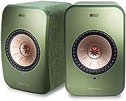 KEF Wireless Speakers(SP3994JX) (LSX Wireless Speakers, Speaker Pair, Green)