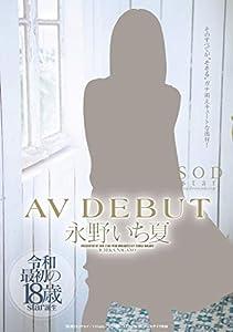 【メーカー特典あり】永野いち夏  AV DEBUT(着用済みパンツ&証明写真付き)(初回限定) [DVD]