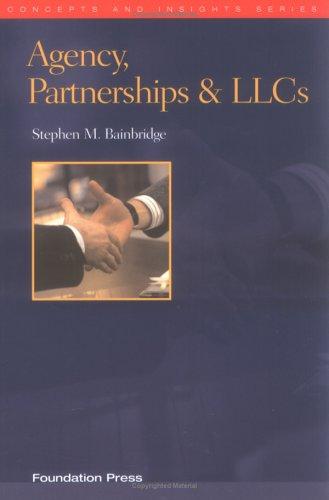 Download Agency, Partnership & Liabilitiy Companies (Concepts & Insights) 1587785080
