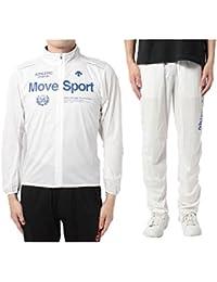 デサント MoveSports メンズ 上下組 コンディショニング ジャケット パンツ 陸上 サウナスーツ 汗だしアイテム 男性用 軽量 トレーニング ジム ランニング/DRN-2640set