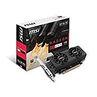 MSI AMD Radeon RX 4604GT LP 4GB gddr5DVI / HDMIロープロファイルPCI - Expressビデオカード