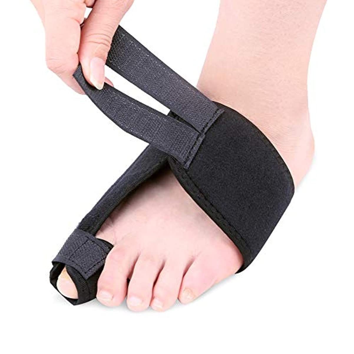 レタスリークコットン外反母趾足指セパレーターは足指重複嚢胞通気性吸収汗を予防し、ヨガ後の痛みと変形を軽減,M