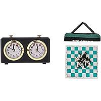 perfk チェスゲーム 発条時計 カウントダウン タイマー チェスボード