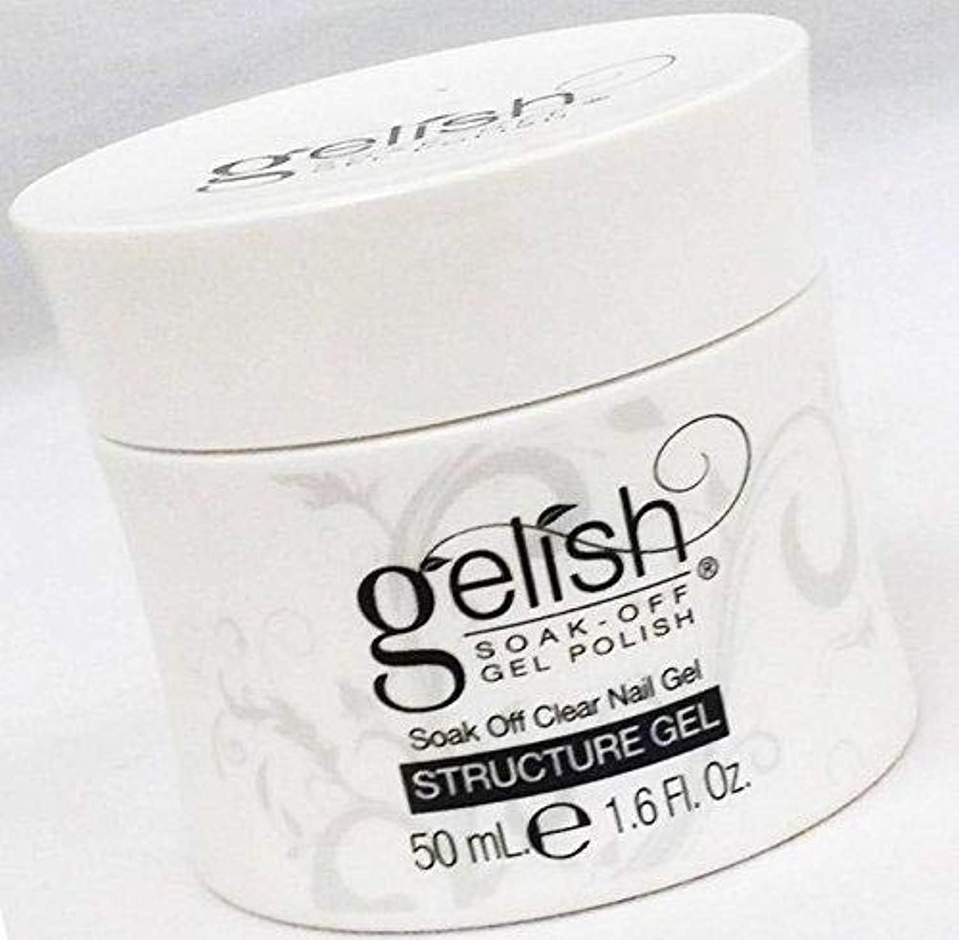 間接的発音湿地Harmony Gelish Essentials - Structure Gel Building Gel - 50ml / 1.6oz