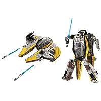 STAR WARS - Transformers トランスフォーマー [Anakin Skywalker / Jedi ジェダイ starfighter] フィギュア 人形 おもちゃ (並行輸入)