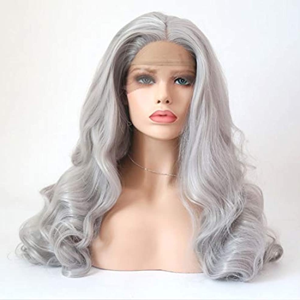 円形のコレクション地中海Summerys 女性のための長い巻き毛のかつら合成パーティーかつら耐熱繊維かつらとフルウィッグ