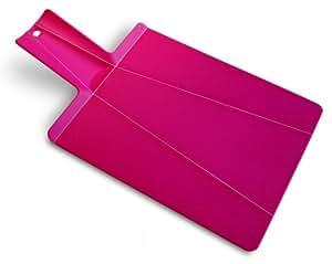 Joseph Joseph 折り曲がるまな板 チョップ 2 ポット ピンク