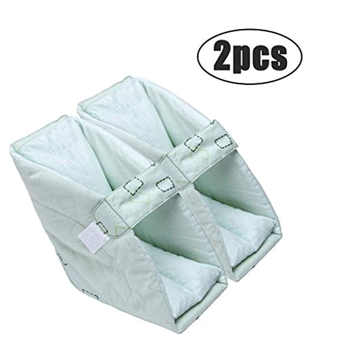 スナップスパンロックAlmohadillas para los pies Protectores para el talón Cojines, almohadilla de talón en la cama antiescaras: alivio efectivo de la presión y úlceras para pies hinchados,2pcs