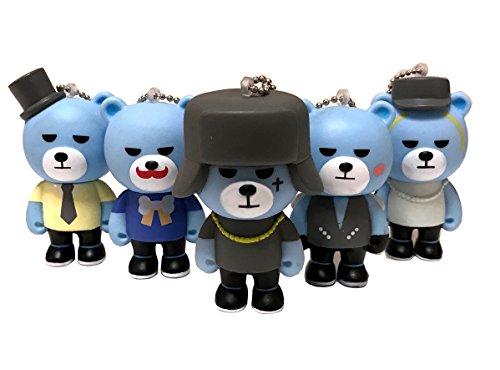 【KRUNK】【キーホルダー】【5個セット】 BIGBANG...