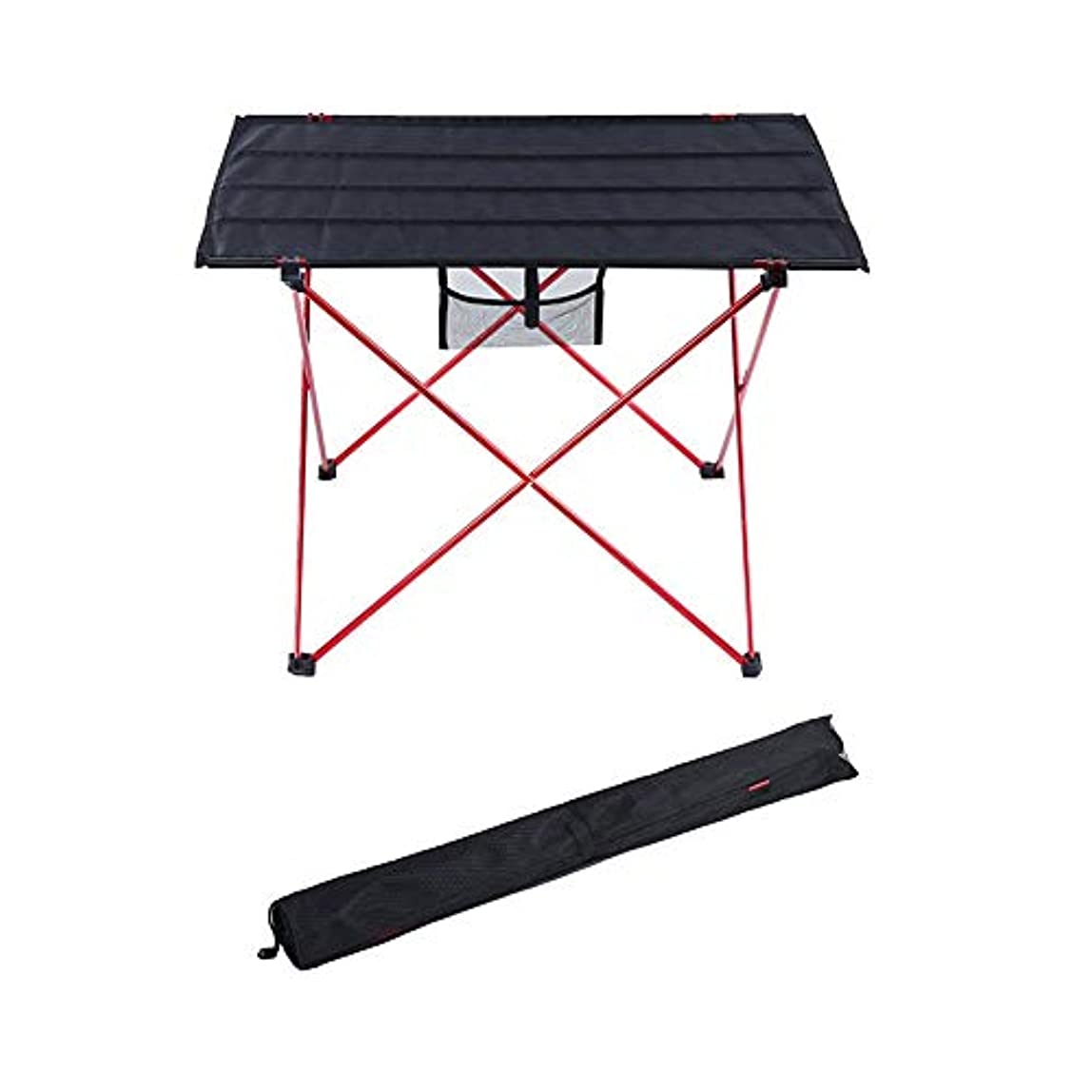 もっと溶かす有力者折りたたみ キャンプ用テーブル ポータブル 軽量 ピクニック 表 にとって ハイキング 釣り バーベキュー と ポータブル キャリーバッグ