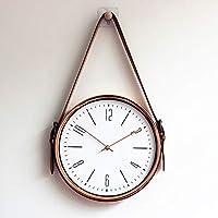 モダン ガラス カバー 時計,な シックです な サイレント 静音 静か 装飾的です ウォールクロック,キッチンの リビング ルーム-q 直径30cm