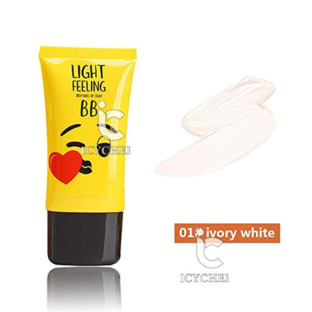 どちらかもクラッチICYCHEER メイクナチュラルコンシーラー BB クリーム修正されたエモリエント着やすい保湿美白クリーム (01)