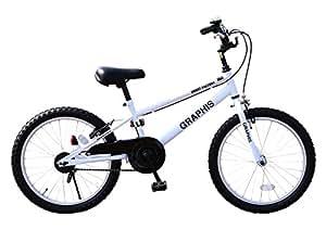 選べる4色! 子供用自転車 キッズサイクル 20インチ BMXタイプ チェーンケース・ハンドル保護カバー付 ストリート 街乗り 子供