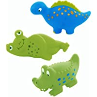 Animal Crackers Squirt Bathtub Toys (set of 3) by Mud Pie