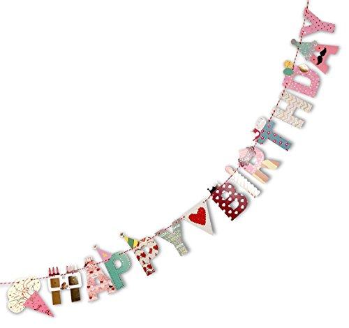 ガーランド 誕生日 バースデー 飾り パーティー 子供用 飾り付け