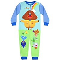 Hey Duggee Squirrel Club Boy's Blue Onesie Kid's Sleep Suit