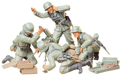 1/35 ミリタリーミニチュアシリーズ ドイツ歩兵迫撃砲チームセット