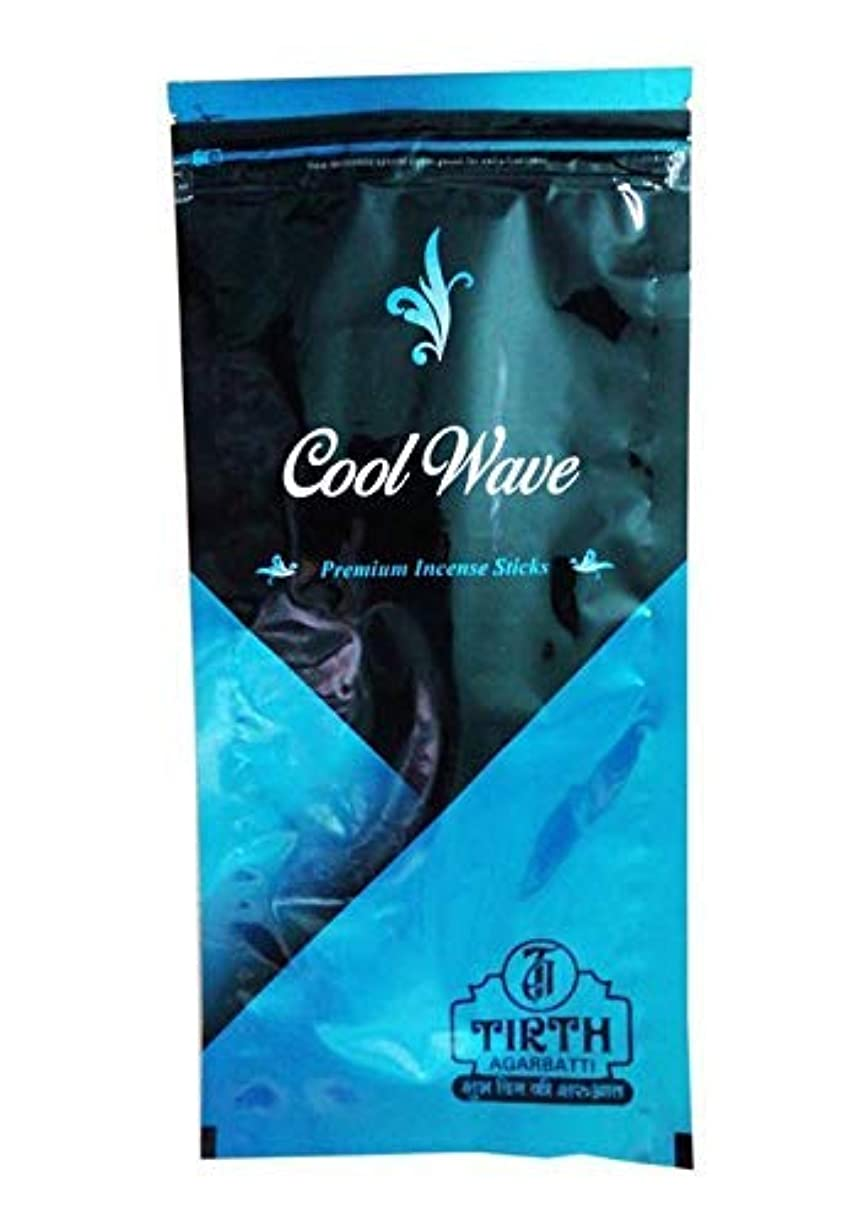 オート減少カポックTIRTH Cool Wave Premium Incense Stick/Agarbatti (170 GM Pack) Pack of 2